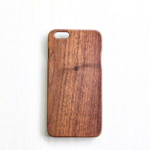 台灣製高質感 - iPhone 6 6s/6 PLUS 6sPLUS 胡桃實木手機殼