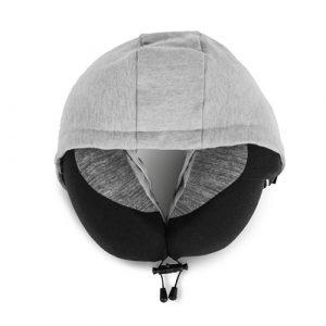 外出旅遊通勤坐車高鐵都可用-V.P.旅行枕/飛機枕/連帽頸枕/U型枕/護頸枕/記憶枕