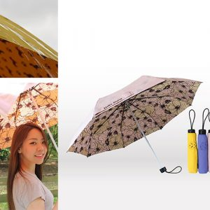 ClipGo可立扣東麗酒伊二代印花輕折傘手開傘/雨傘