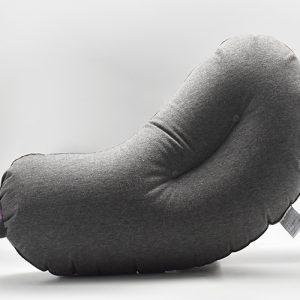 隨時都能舒服睡個好覺-AUBERGINE 充氣旅行茄子枕/充氣枕/午睡枕