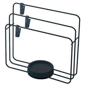 廚房擺設時尚有質感-LIBERALISTA不倒翁多功能抹布/用具瀝水架