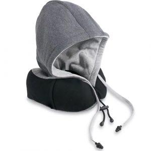 搭高鐵飛機都可以睡得著-連帽式旅行枕/U型枕