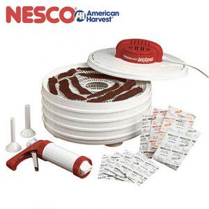 果乾/寵物零食自己做超健康-NESCO 天然食物乾燥機肉乾工具超值組FD-28JX