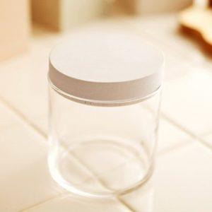 珪藻土蓋子隔絕食物濕氣保鮮時間長 -日本soil圓形玻璃食材罐/收納罐/儲物罐