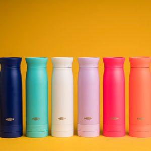 不用再帶瓶瓶罐罐一瓶搞定-加拿大utillife 輕盈隨身瓶/分隔儲物格保溫保冷杯(多色可選)