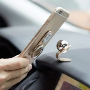 車子導航磁力架-手機磁力支架車用多功能指環扣