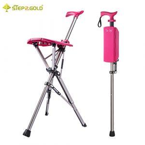 台灣之光發明日本暢銷-Ta-Da™(泰達®)椅 自動手杖椅/拐杖椅