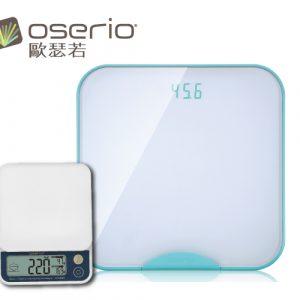 【獨家優惠組合】買一組專屬的健康管家-醣管家卡路里秤+無線智慧體重計