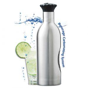享受夏日健康氣泡飲品- SODA SPLASH 魔泡瓶/氣泡水機(單瓶含11顆氣彈)
