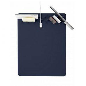 讓辦公桌整齊的質感好物-PALLO多功能收納滑鼠墊(海軍藍)