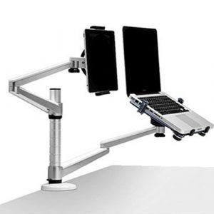 多螢幕小幫手-多功能鋁合金雙螢幕懸臂支架多螢幕小幫手